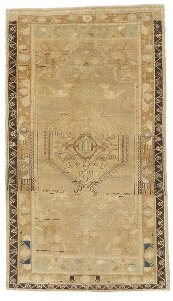 Taspinar Rug 115X200 Authentic  Oriental Handknotted Light Brown (Wool, Turkey)