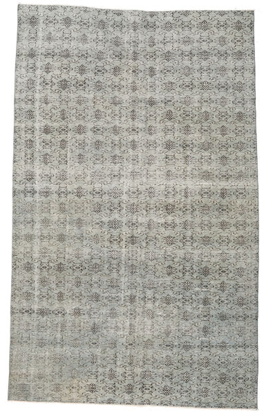 Colored Vintage Rug 181X295 Authentic  Modern Handknotted Light Grey/Dark Grey (Wool, Turkey)
