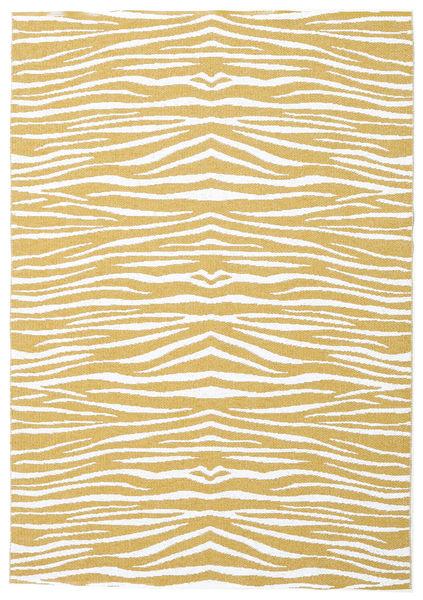 Zebra - Mustard Yellow teppe CVD21687