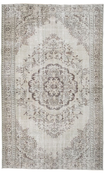 Colored Vintage Rug 167X271 Authentic  Modern Handknotted Light Grey (Wool, Turkey)