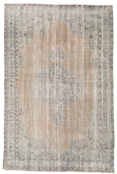 Colored Vintage Rug 167X256 Authentic  Modern Handknotted Light Grey (Wool, Turkey)