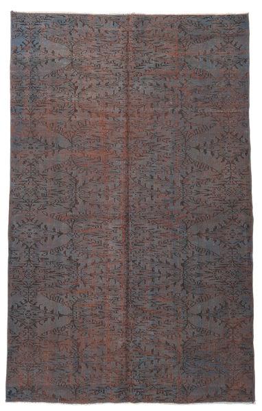 Colored Vintage Rug 164X266 Authentic  Modern Handknotted Dark Brown/Dark Grey (Wool, Turkey)