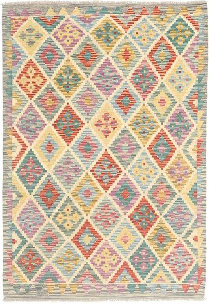 Kelim Afghan Old style teppe MXK292