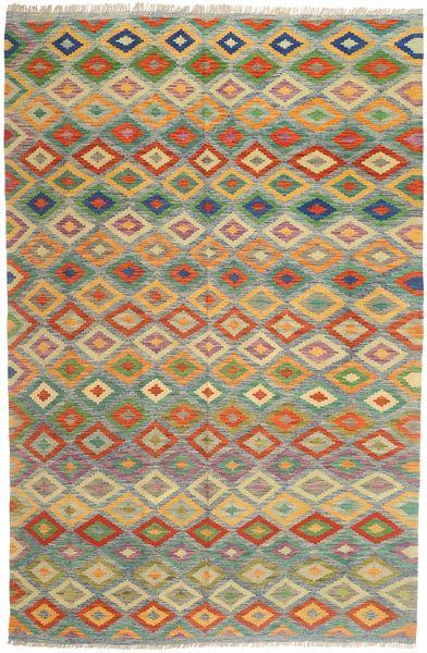 Kelim Afghan Old style tapijt MXK123