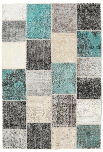 パッチワーク 絨毯 158X233 モダン 手織り 薄い灰色/ベージュ (ウール, トルコ)