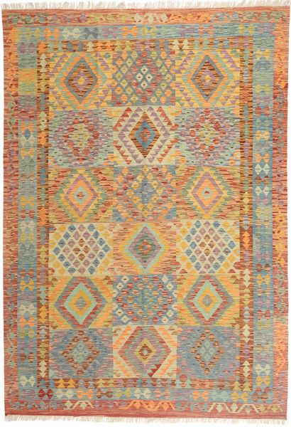 Alfombra Kilim Afghan Old style MXK131