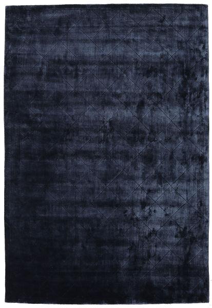 Brooklyn - Nachtblau Teppich  200X300 Moderner Dunkelblau ( Indien)