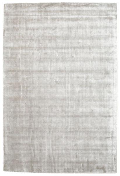 Broadway - Hopea Valkoinen Matto 120X180 Moderni Vaaleanharmaa ( Intia)