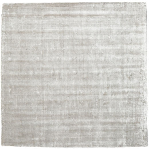 Broadway - Argintiu White Covor 250X250 Modern Pătrat Gri Deschis/Bej Mare ( India)