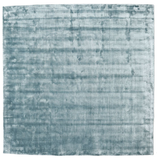 Broadway - Ice Blue Rug 250X250 Modern Square Light Blue Large ( India)