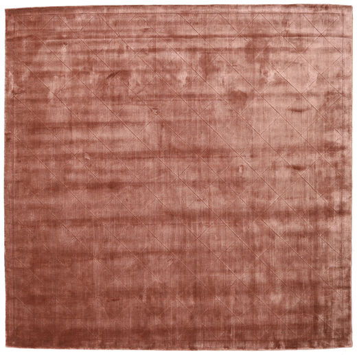 Brooklyn - Pale Copper Rug 250X250 Modern Square Brown/Light Pink Large ( India)