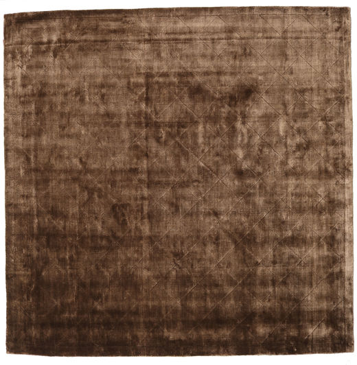 Brooklyn - Brown Rug 250X250 Modern Square Brown/Dark Brown Large ( India)
