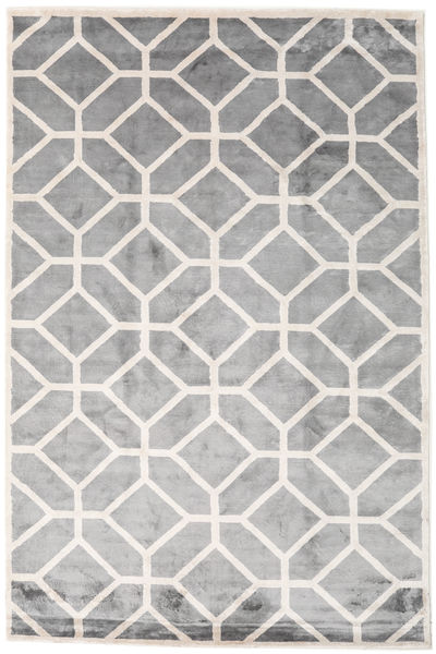 Palace Rug 300X400 Authentic  Modern Handknotted Light Grey/Dark Grey Large ( India)