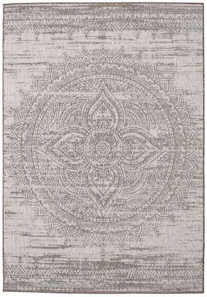 Mandala - Barna / Bézs szőnyeg RVD20626