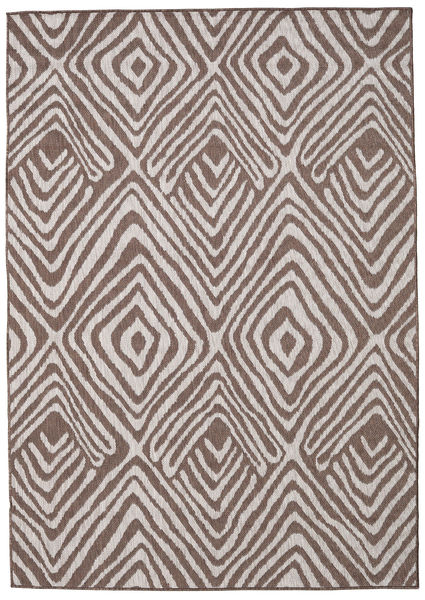 Savanna - Brun / Ljusgrå matta RVD20599