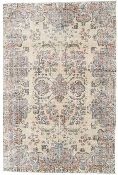 Taspinar Rug 204X310 Authentic  Oriental Handknotted Light Grey/Light Brown (Wool, Turkey)