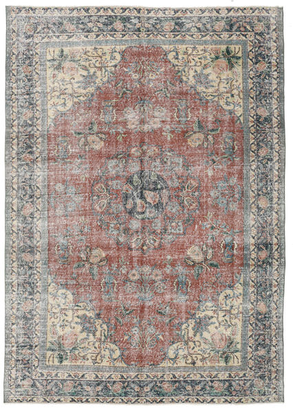 Taspinar Rug 210X296 Authentic  Oriental Handknotted Light Grey/Light Brown (Wool, Turkey)