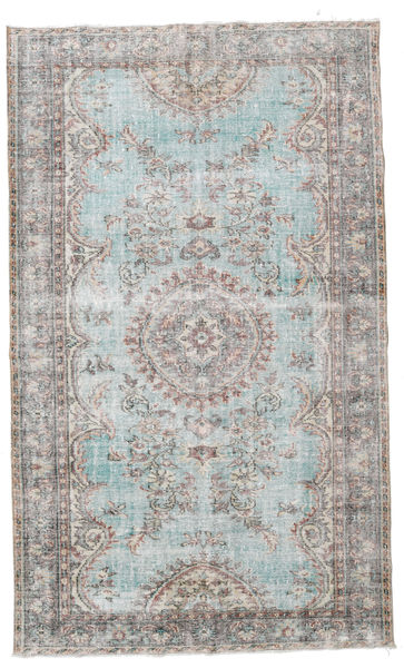 Taspinar Teppe 188X313 Ekte Orientalsk Håndknyttet Lys Grå/Beige (Ull, Tyrkia)