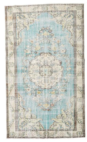 Taspinar Matta 166X281 Äkta Orientalisk Handknuten Ljusgrå/Vit/Cremefärgad (Ull, Turkiet)