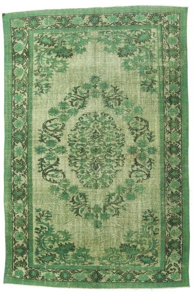 Colored Vintage Relief Dywan 228X340 Nowoczesny Tkany Ręcznie Zielony/Oliwkowy/Jasnozielony (Wełna, Turcja)