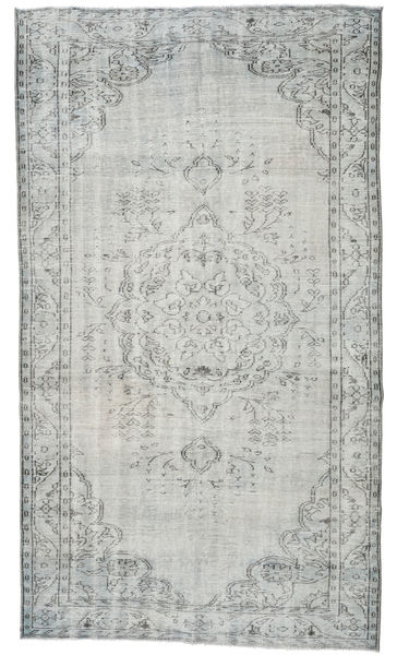 Colored Vintage Rug 171X306 Authentic  Modern Handknotted Light Grey (Wool, Turkey)