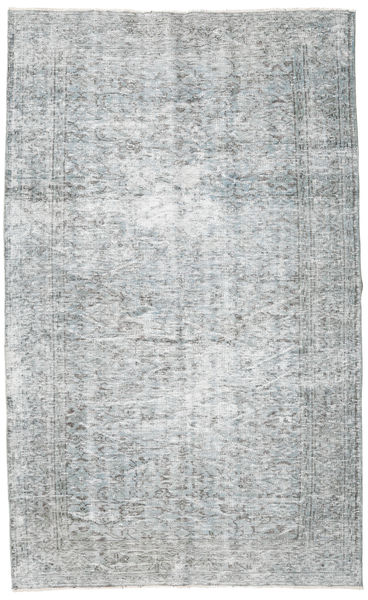 Colored Vintage Rug 164X270 Authentic  Modern Handknotted Light Grey/White/Creme/Light Blue (Wool, Turkey)