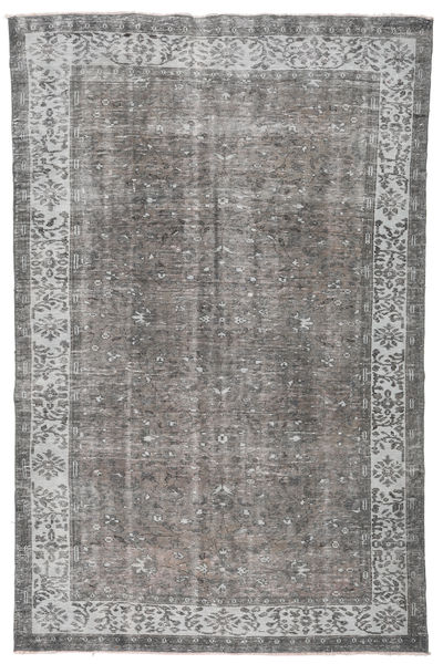 Colored Vintage Rug 181X284 Authentic  Modern Handknotted Light Grey/Dark Grey (Wool, Turkey)