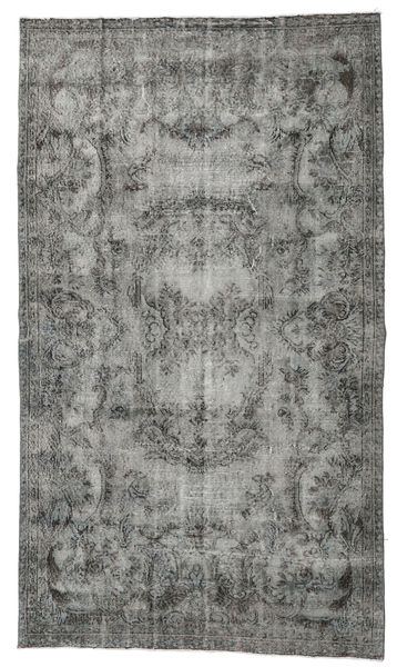 Colored Vintage Rug 151X260 Authentic  Modern Handknotted Dark Grey/Light Grey (Wool, Turkey)