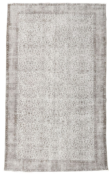 Colored Vintage Rug 172X282 Authentic  Modern Handknotted Light Grey/Beige (Wool, Turkey)