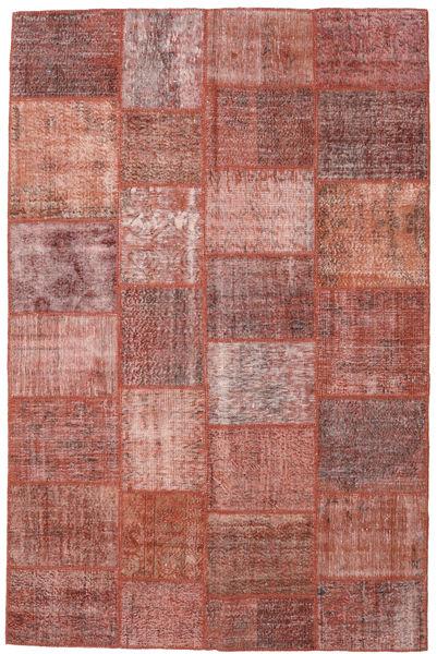 Patchwork Rug 198X302 Authentic  Modern Handknotted Dark Red/Light Brown (Wool, Turkey)