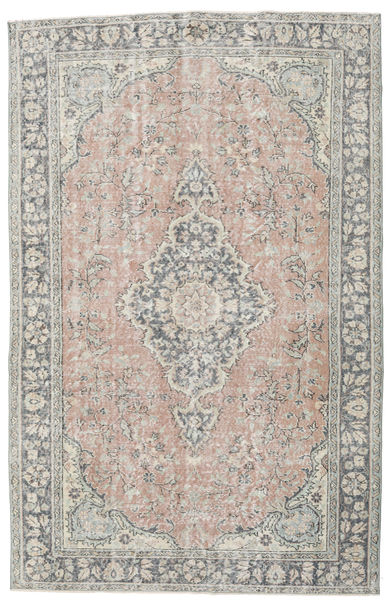 Colored Vintage Rug 174X272 Authentic  Modern Handknotted Light Grey/Dark Grey (Wool, Turkey)