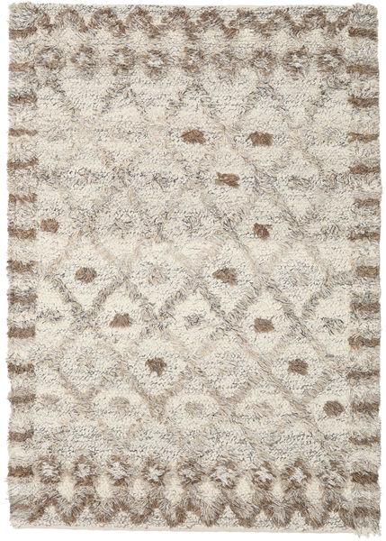 Heidi - Brown Mix Rug 160X230 Authentic  Modern Handwoven Light Grey/Light Brown (Wool, India)