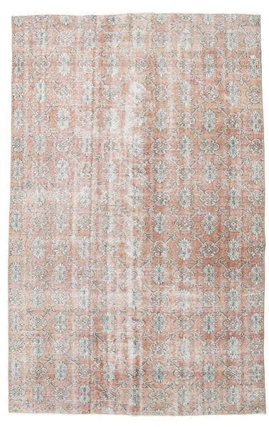 カラード ヴィンテージ 絨毯 176X276 モダン 手織り 薄い灰色/ライトピンク (ウール, トルコ)