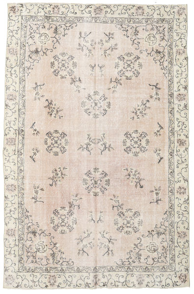Colored Vintage Rug 208X323 Authentic  Modern Handknotted Light Grey/Beige (Wool, Turkey)