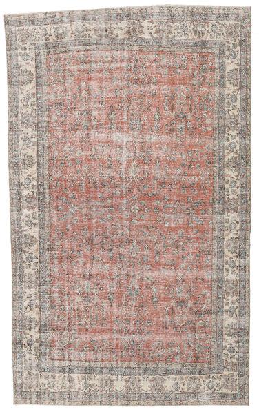 Taspinar Rug 200X336 Authentic  Oriental Handknotted Light Grey/Light Brown (Wool, Turkey)