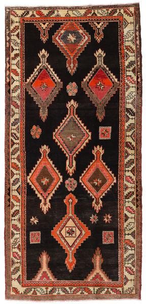 Herki Vintage Szőnyeg 155X335 Keleti Csomózású Sötétbarna/Világosbarna (Gyapjú, Törökország)