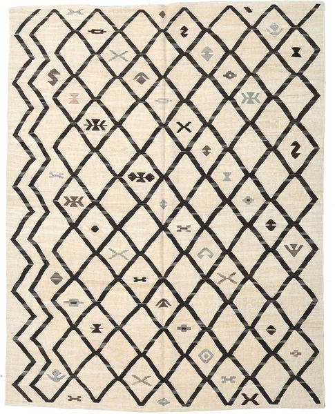 Kelim Halbantik Türkei Teppich  240X306 Echter Orientalischer Handgewebter Beige/Dunkelgrau (Wolle, Türkei)