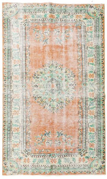 Taspinar Rug 162X270 Authentic  Oriental Handknotted Beige/Light Pink (Wool, Turkey)