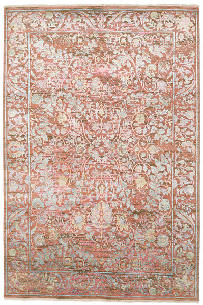 Himalaya Rug 180X271 Authentic  Modern Handknotted Light Pink/Light Brown (Wool, India)