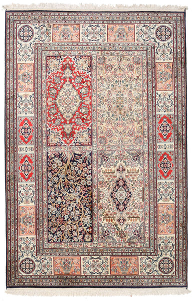 Kashmir ren silke teppe MSC116