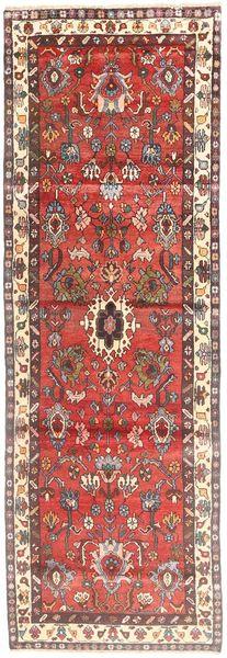 Lillian Matto 105X308 Itämainen Käsinsolmittu Käytävämatto Ruskea/Tummanpunainen (Villa, Persia/Iran)