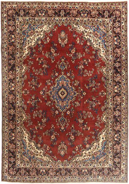 Hamadan Patina Rug 208X300 Authentic  Oriental Handknotted Dark Red/Dark Brown (Wool, Persia/Iran)