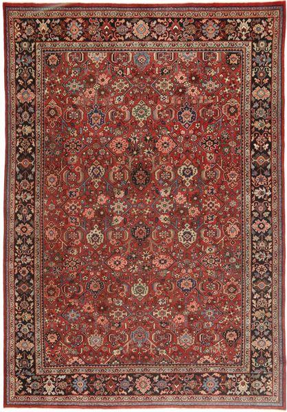 Mahal Patina Matto 260X380 Itämainen Käsinsolmittu Tummanpunainen/Ruskea/Tummanruskea Isot (Villa, Persia/Iran)