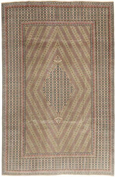 Kerman Patina Rug 173X260 Authentic  Oriental Handknotted Light Brown/Light Grey (Wool, Persia/Iran)