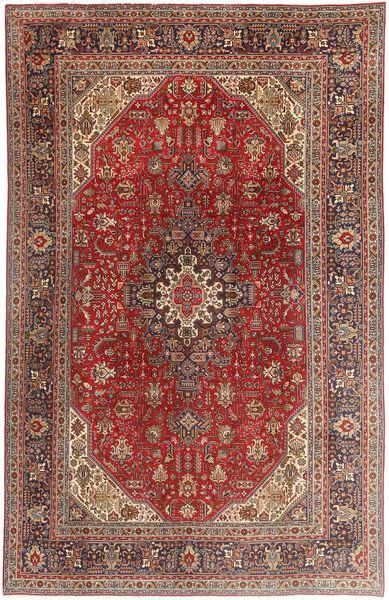 Tabriz Rug 197X307 Authentic  Oriental Handknotted Dark Red/Brown (Wool, Persia/Iran)
