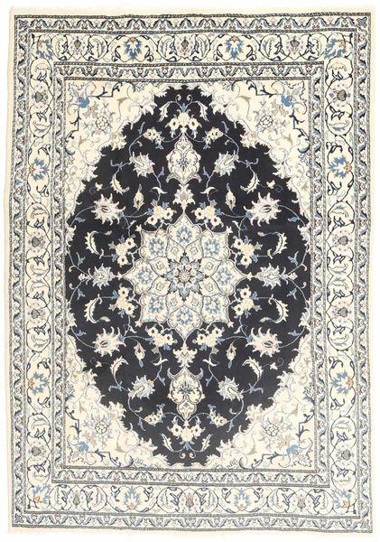 Nain Alfombra 165X229 Oriental Hecha A Mano Beige/Gris Claro (Lana, Persia/Irán)