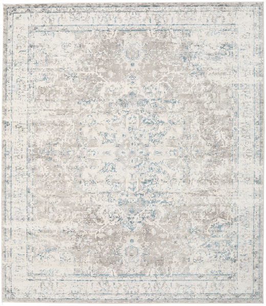 Nadia - Light Rug 250X300 Modern Light Grey/Dark Beige Large ( Turkey)