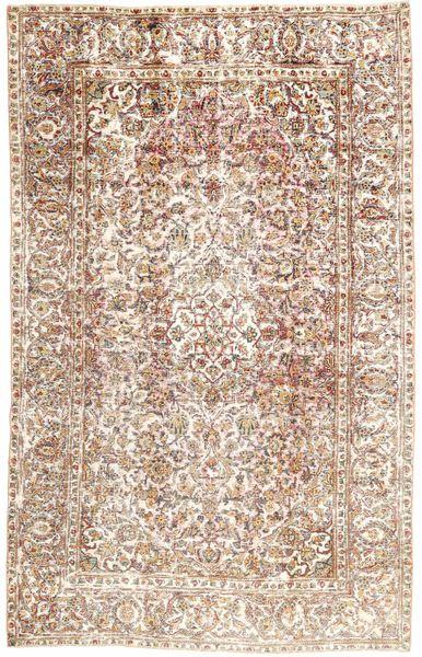 Keshan Patina Matto 187X300 Itämainen Käsinsolmittu Vaaleanruskea/Vaaleanpunainen (Villa, Persia/Iran)