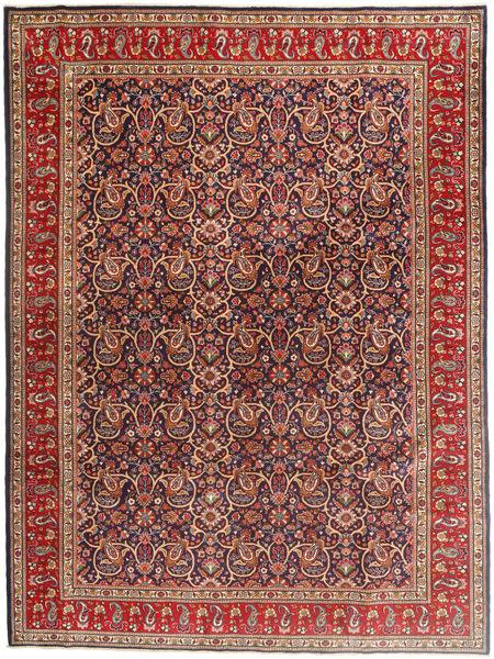 タブリーズ 絨毯 253X343 オリエンタル 手織り 深紅色の/濃い紫 大きな (ウール, ペルシャ/イラン)