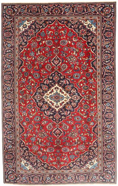 Keshan Matto 185X290 Itämainen Käsinsolmittu Tummanvioletti/Ruskea (Villa, Persia/Iran)